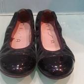 Туфли балетки в школу,два размера 31 и 36