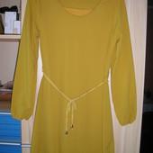 Платье гофрированное - шифоновое - нарядное.
