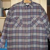Мужская, тёплая рубашка 50 р-ра. куртка. ветровка. свитер.