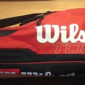Чехол Wilson  tour  3 pack redwhite