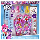 TownleyGirl My Little Pony spa set, nail polish, buffer, file, sandals (girls 10-11) and toe separat