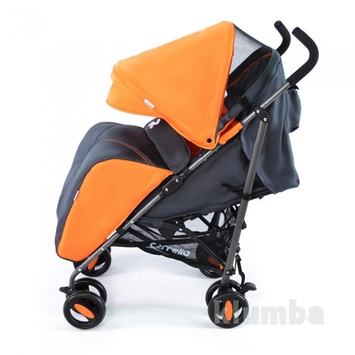 Коляска прогулочная-трость Tilly Carrelo Bravo crl-1404 orange, оранжевый фото №1
