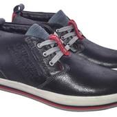 мужские зимние ботинки цвета Код: 34 pueblo