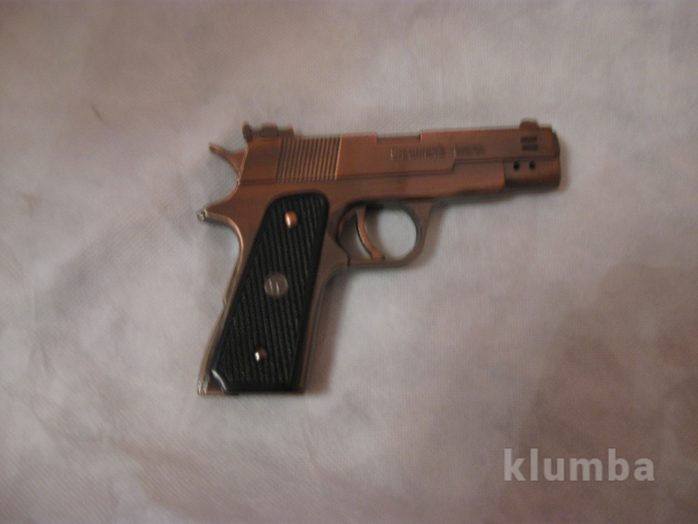 Пистолет зажигалка фото №1
