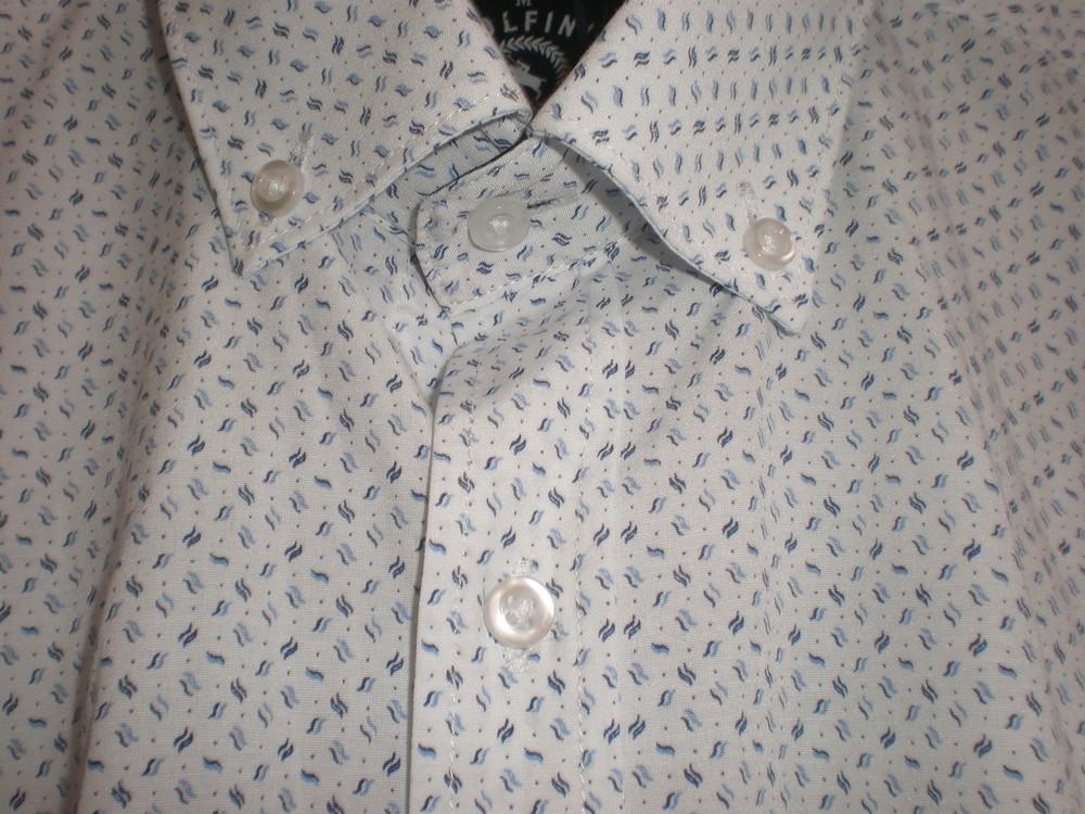 мужская рубашка прямого кроя фото №1
