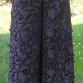 Очень широкие бомбезные юбка - штаны.