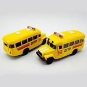 Автомодель - кавз детский автобус (свет, звук)