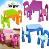 Киев комплект Tega Baby Mamut Киев. Многофункциональный стол и 2 стула