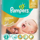 Подгузники Pampers Premium Care 1,2,3,4, 5