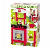 Кухня Ecoiffier с умывальником Pro-Cook (001737) 17 аксессуаров, 18 мес.+