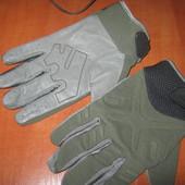 Перчатки тактические, кожа