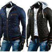 Куртка мужская демисезонная два цвета