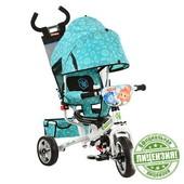 Фиксики велосипед детский трехколесный FX 0054 колеса пена