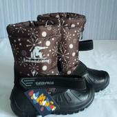 Детские зимние дутыши - сапоги-сноубутсы для комфортной ходьбы