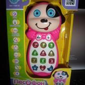 интерактивная обучающая игрушка на батарейках песофон