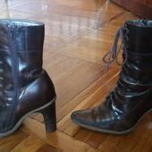 Ботинки Monarch кожаные зимние 36 р.