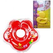 Круг для купания Baby Kinderenok + (Грызунок Loovi Уточка)