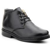 Кожаные зимние ботинки для мужчин. Испания jam