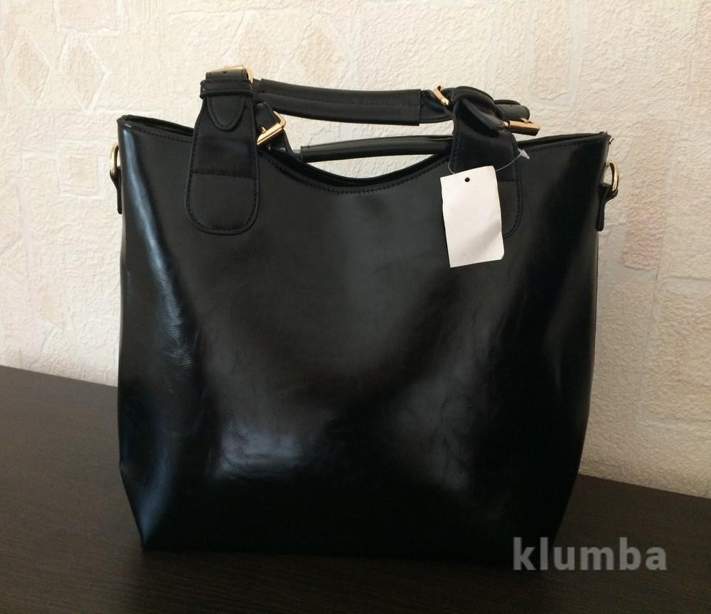 ac2f765b3b4f Сумка zara зара - брендовая копия женская черная глянцевая каркасная фото №1