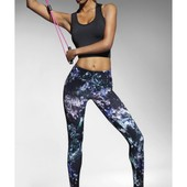 Яркие спортивные эластичные леггинсы или майка Спортивные штаны костюм красочная одежда Andromeda