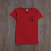 Яркая футболочка Fruit of the Loom для девочки, размер 9-11 лет, рост 140 см. Состояние идеальное.