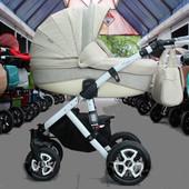 Универсальная коляска 2 в 1 Adamex Barletta 612K, молочный