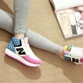 Стильные модные красивые кроссовки  New Balance  (Нью Баланс)