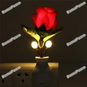 Светодиодный LED ночник роза