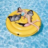 Надувной плот для плавания Intex 57254 «Смайл», 173 х 27 см.