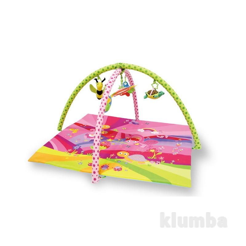 Игровой коврик сказки розовый 89*83см фото №1