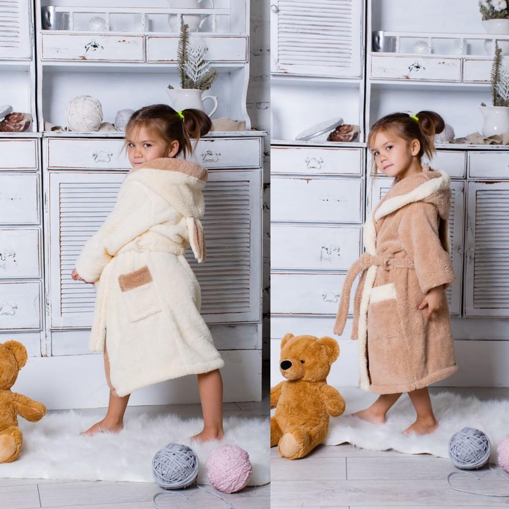 Детский  махровый халатик зайка  selim-tekstil фото №1