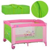 Манеж-кровать Bambi+сумка и матрасик