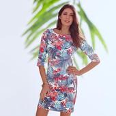 Стильное платье джерси Tchibo европ. 36-38