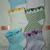 Носочки для малюток 0-2 міс.