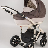 Универсальная коляска 2 в 1 Bebe-Mobile Toscana len цвет 408L