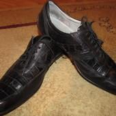 Кожаные туфли Franco cuadro 45 р стелька 29 см