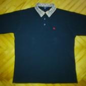 Брендовая футболка-поло от Burberry -р. XL!