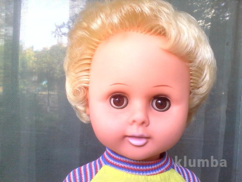 Кукла гдр раунштайн 48 см отличная в родном номерная фото №1
