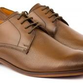 Кожаные туфли Braska Распродажа склада!