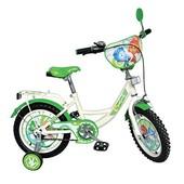 Велосипед Фиксики 12 дюймов детский двухколесный профи азимут