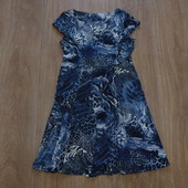 Мега стильное платье от M&Co в интересный принт, размер 10 (М). Состояние новой вещи.