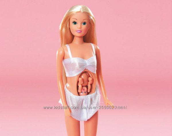 Кукла штеффи simba steffi беременная с младенцем 5734000 фото №2