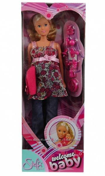 Кукла штеффи simba steffi беременная с младенцем 5734000 фото №3