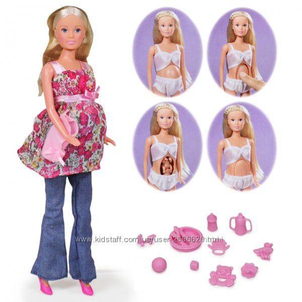 Кукла штеффи simba steffi беременная с младенцем 5734000 фото №1