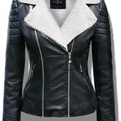 Дубленка женская,куртка косуха на меху