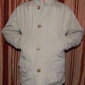 Бежевая мужская теплая зимняя куртка Саnadian - М размер