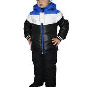 Зимняя, детская, теплая, модная куртка на мальчика