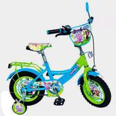 Велосипед Лунтик 12  дюймов детский двухколесный