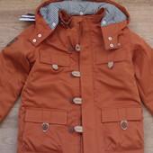 Стильная  демисезонная куртка  для мальчика (еврозима) в наличии от 98 до 122 размера