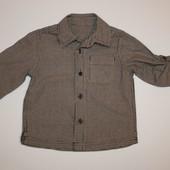 Mothercare Стильная рубашка моднику 12-18 мес.